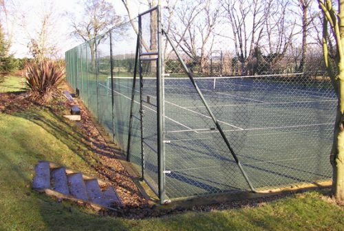 Tennis Court & Sports Surface Fence Installation / Repairs