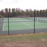 Halcyon Courts - Tennis Court and Sports Surface with Fencing